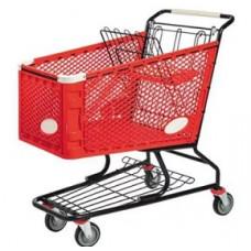 Тележка покупательская пластиковая